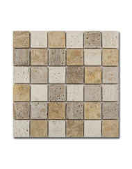 MOZAIKA-BARWOLF-CM-10004-SQUARE-TRAVERTINE-MIX-TOPAZ-BIALYSTOK