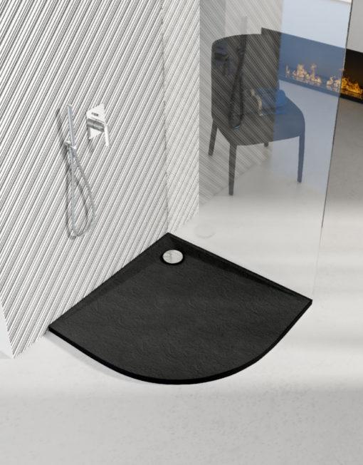 schedpol-libra-black-stone-brodzik-polokragly-czarny-90x90-aranzacja-topaz-bialystok