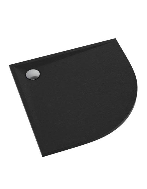schedpol-libra-black-stone-brodzik-polokragly-czarny-90x90-topaz-bialystok